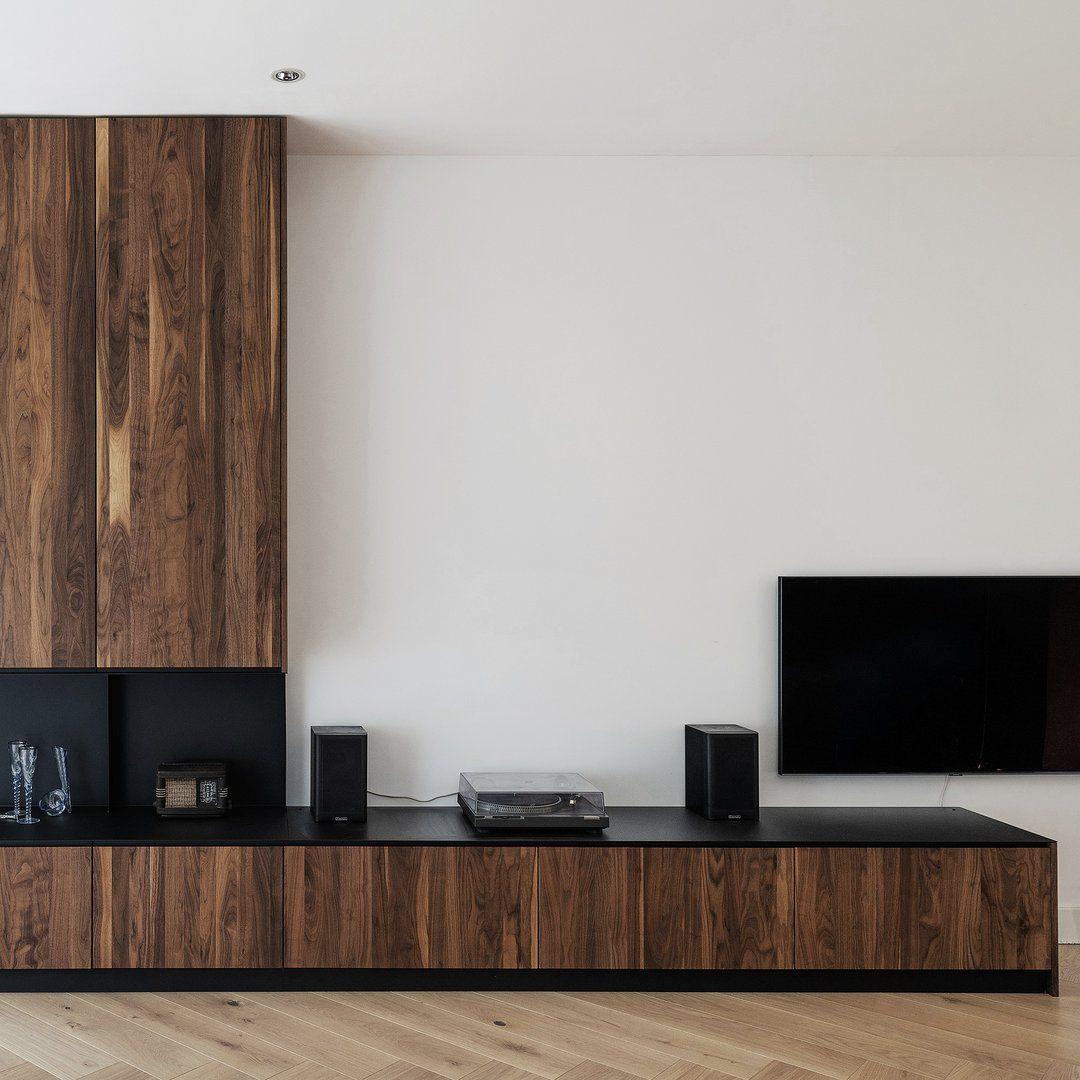Houtmerk Maatwerk Ferro Kastenwand Plaatstaal Massief Hout Huis Interieur Design Kast Woonkamer Modern Huiskamerideeen