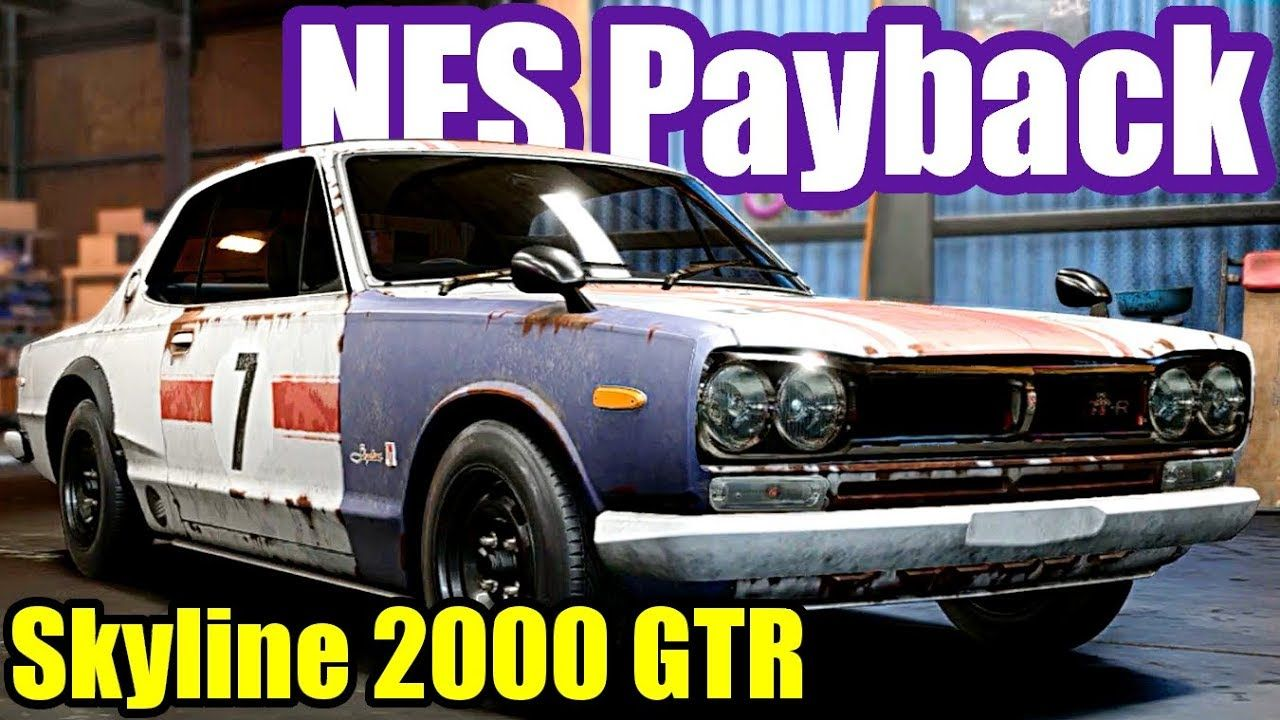 Need For Speed Payback 27 Abandoned Nissan Skyline 2000 Gtr
