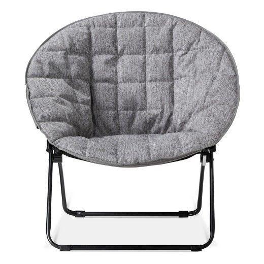 add seating to your playroom with the quilted dish chair light