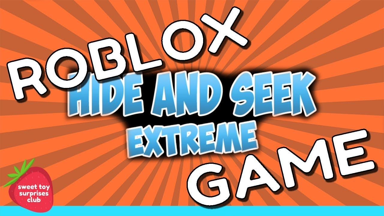 Roblox Games Hide And Seek Playing Roblox Game Hide Seek Extreme Play Roblox Roblox Games