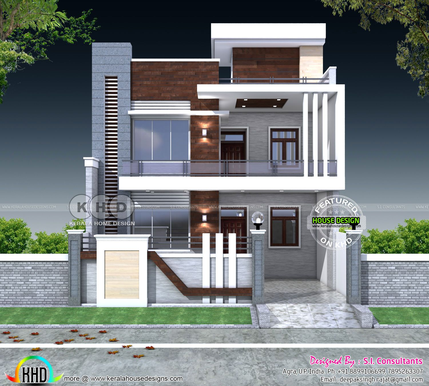 5 Bedroom Flat Roof Contemporary Home