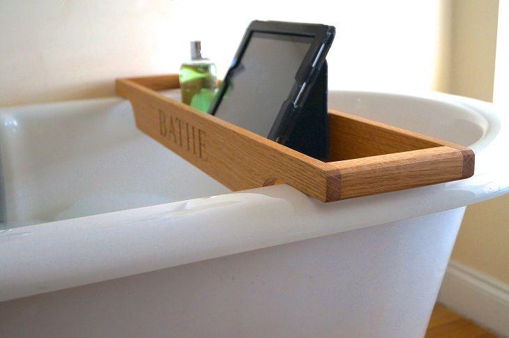 Полка-подставка для ванны   Ванная, Банные принадлежности ...