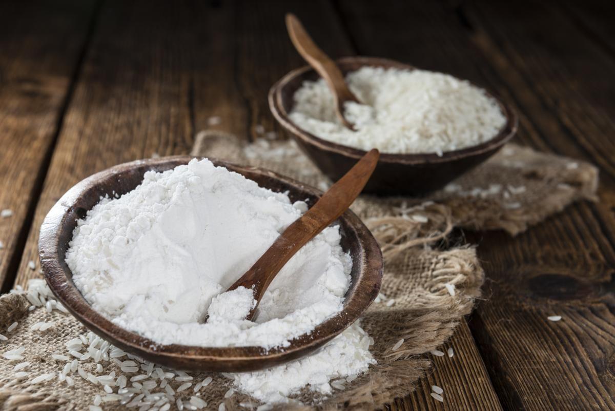 Rice Flour as a Cornstarch Substitute Lighten skin, Rice
