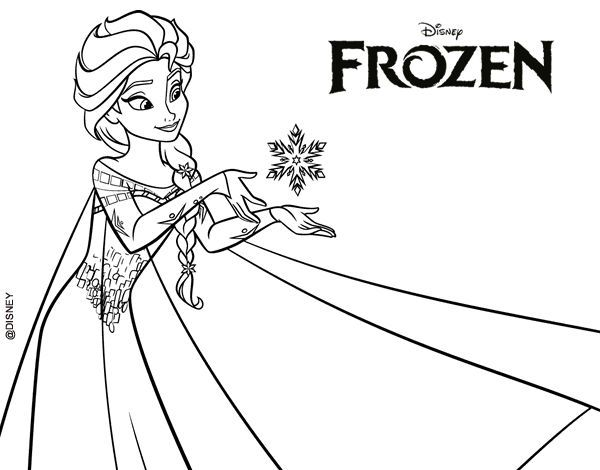 Descargar E Imprimir Imágenes De Princesas Para Colorear Frozen Coloring Pages Frozen Coloring Frozen Images