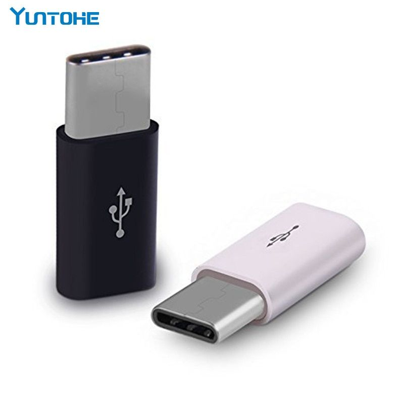 Mini USB 5 Pin Female To USB 3.1 Type-C Male Charging Data Adapter for Macbook