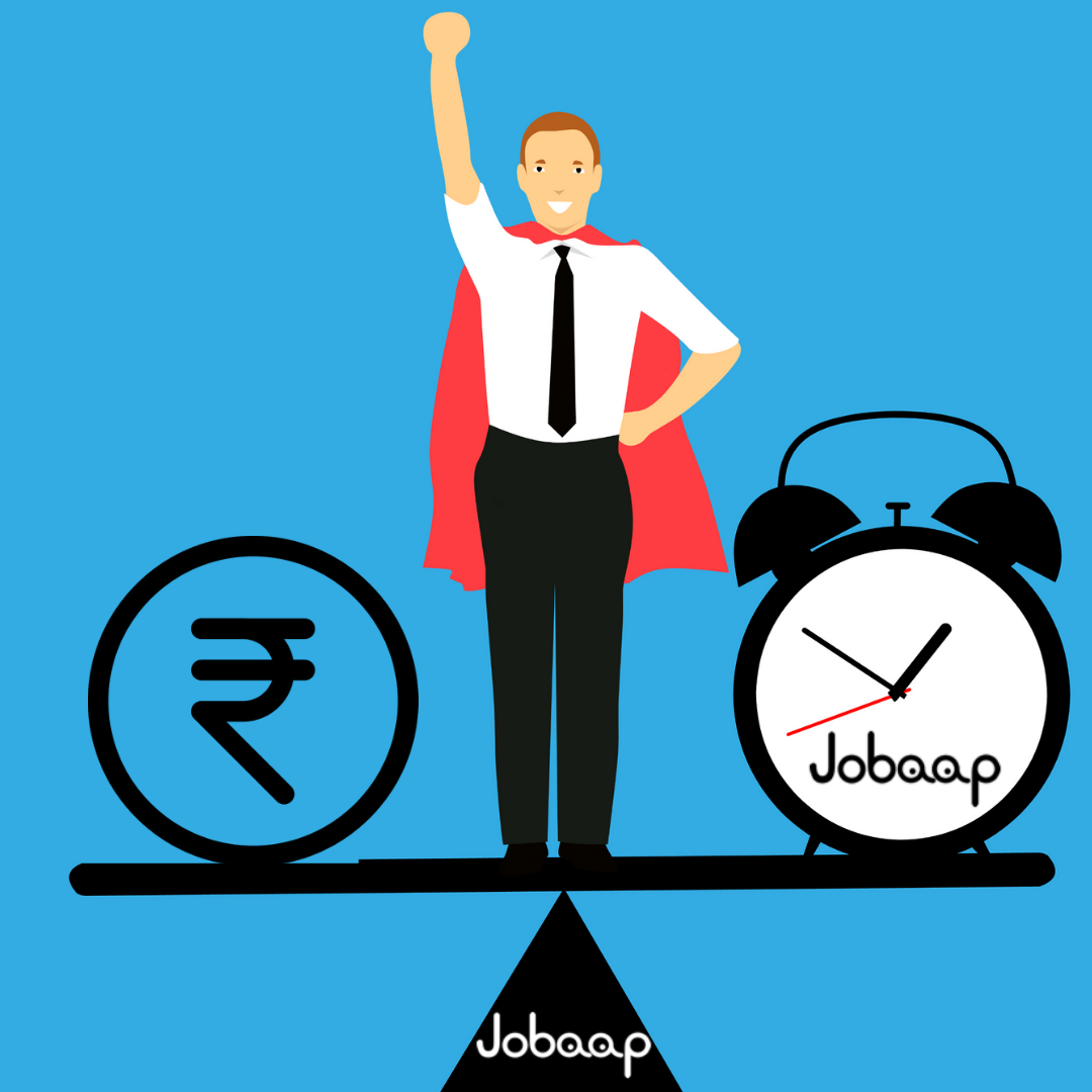 Balance your time and money with Jobaap Register Now