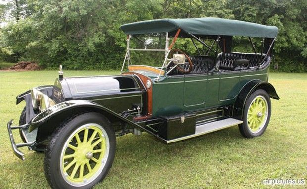 1913 Inter State Model 45 7 Passenger Touring Cars