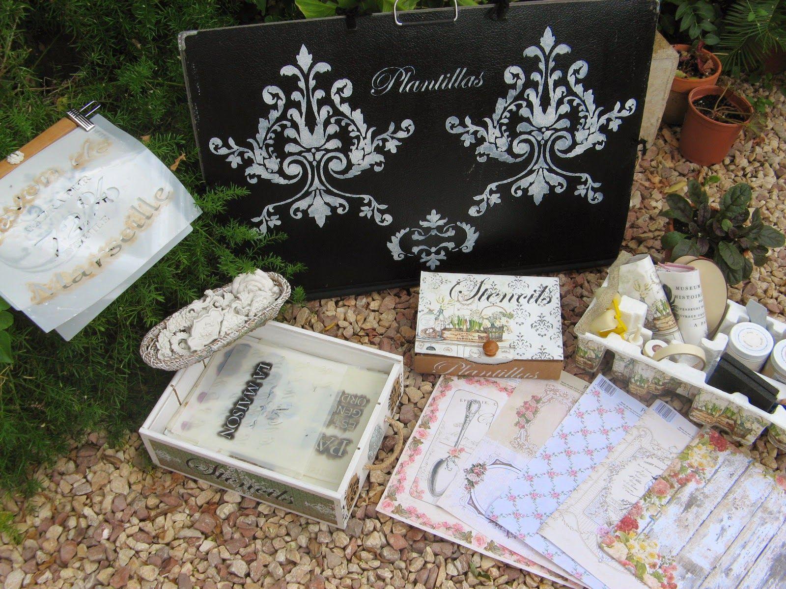 Carpeta decorada con estarcidos trabajos manualidades y bricolaje pinterest carpetas - Manualidades y bricolaje ...