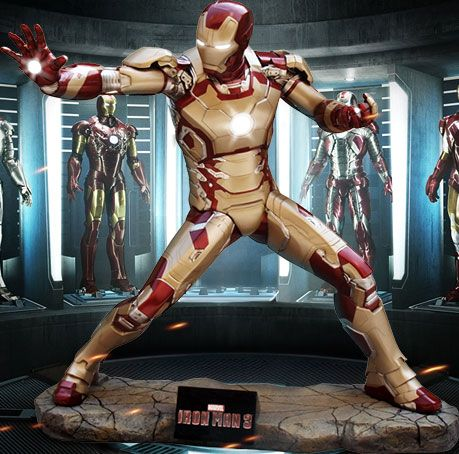 Own A Life Sized Iron Man Mark 42 Ironman3event