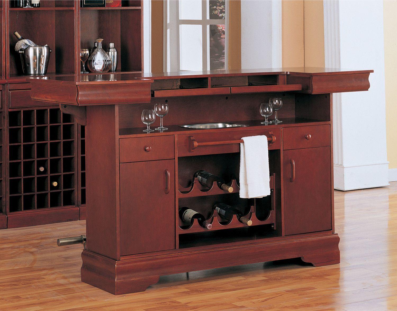 Wildon Home Cherry Tiernan Home Bar Bar Furniture Home Bar Furniture Bars For Home