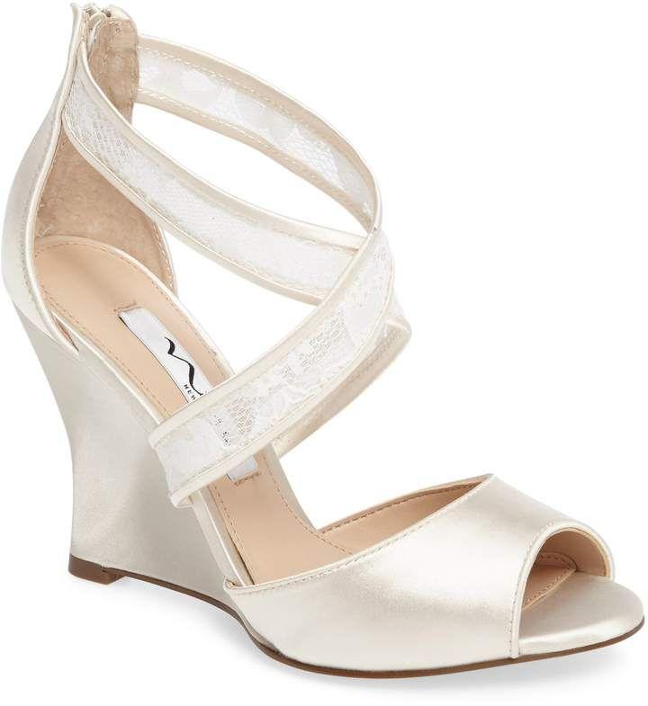 a452cb3f08c Nina Elyana Strappy Wedge Sandal