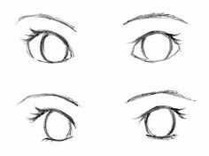 Tutorial For Big Female Eyes This Is For People Like Me Who Are Having Trouble Drawing Eyes Eye Drawing Drawings Manga Eyes