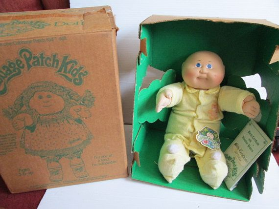 1983 Vintage First Year Coleco Cabbage Patch Kid Doll Bald Etsy Cabbage Patch Kids Cabbage Patch Kids Dolls Cabbage Patch Dolls