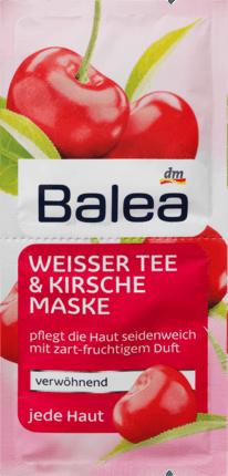 Weißer Tee & Kirsche Maske