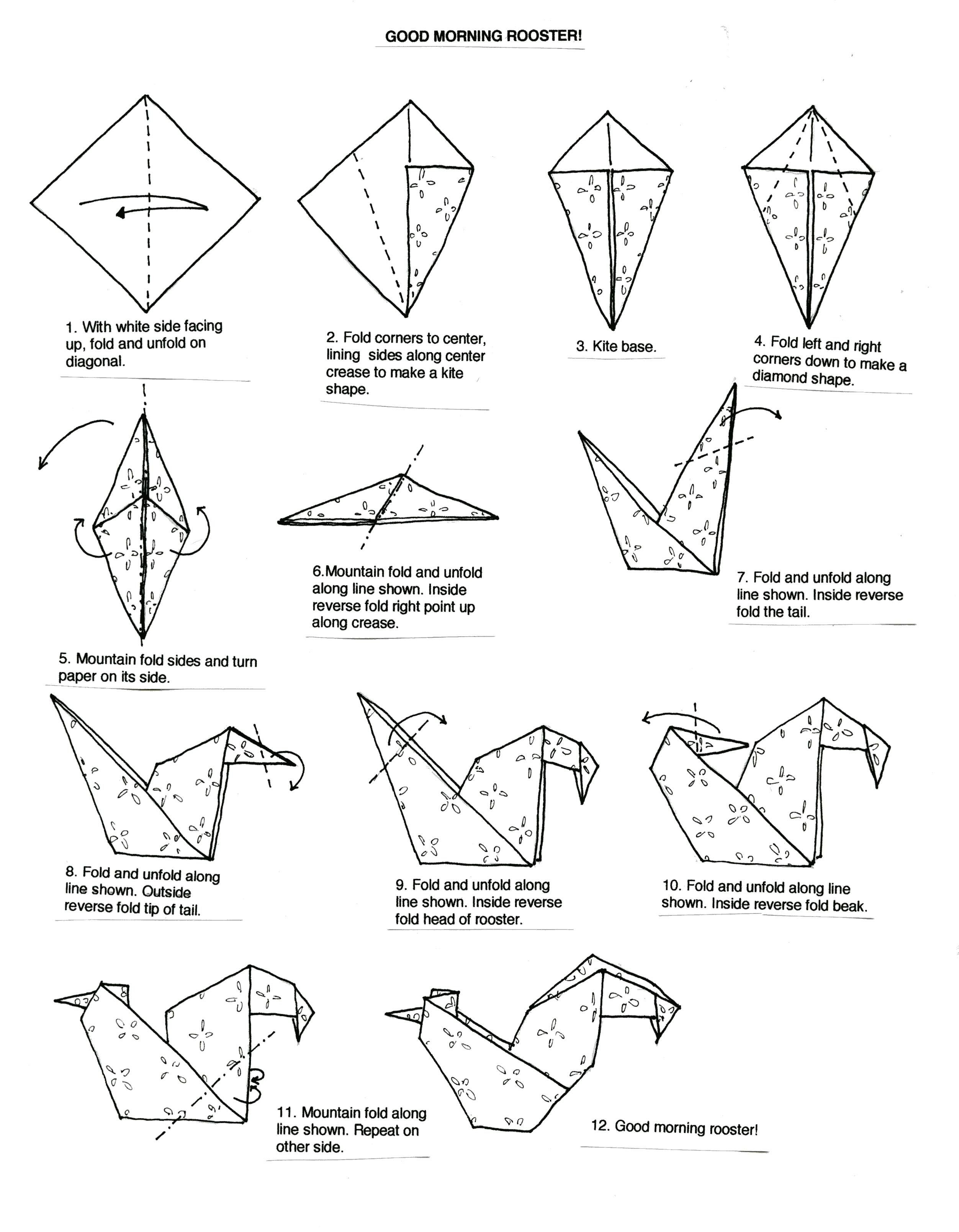 25 Origami Ewok Instructions