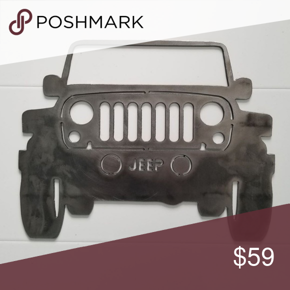 Jeep Wrangler Grille Hand Made Metal Art Hard Crafts Metal Art Handmade