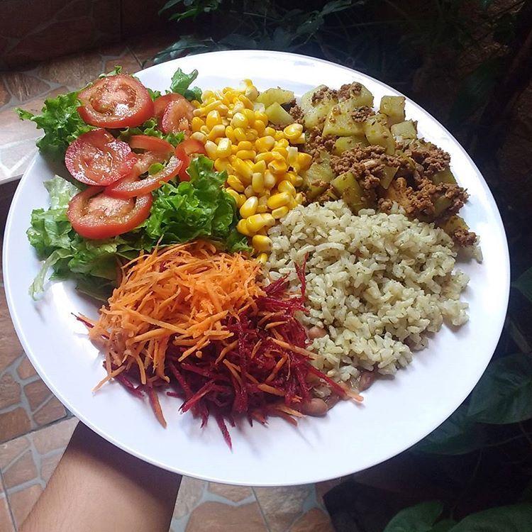 arroz integral na dieta low carb