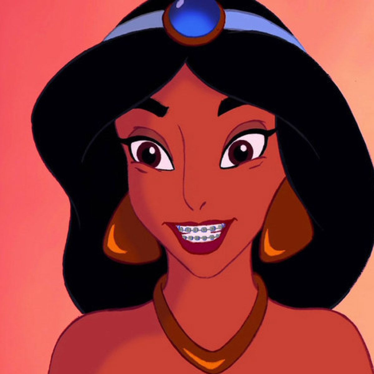 Disney Princesses With Braces Are Actually Really Adorable