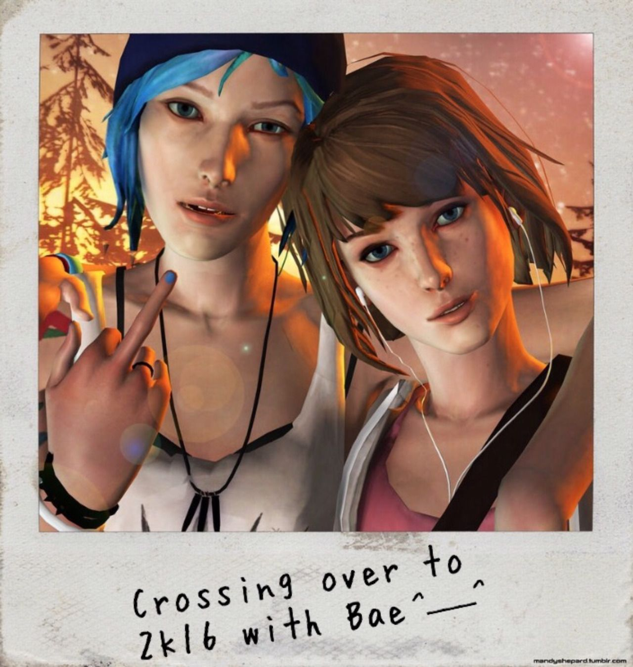 """Pricefield (Life is Strange) - """"Reblog for 2k16 with Max and Chloe! (With EMOJI)"""" by Lisislyf"""