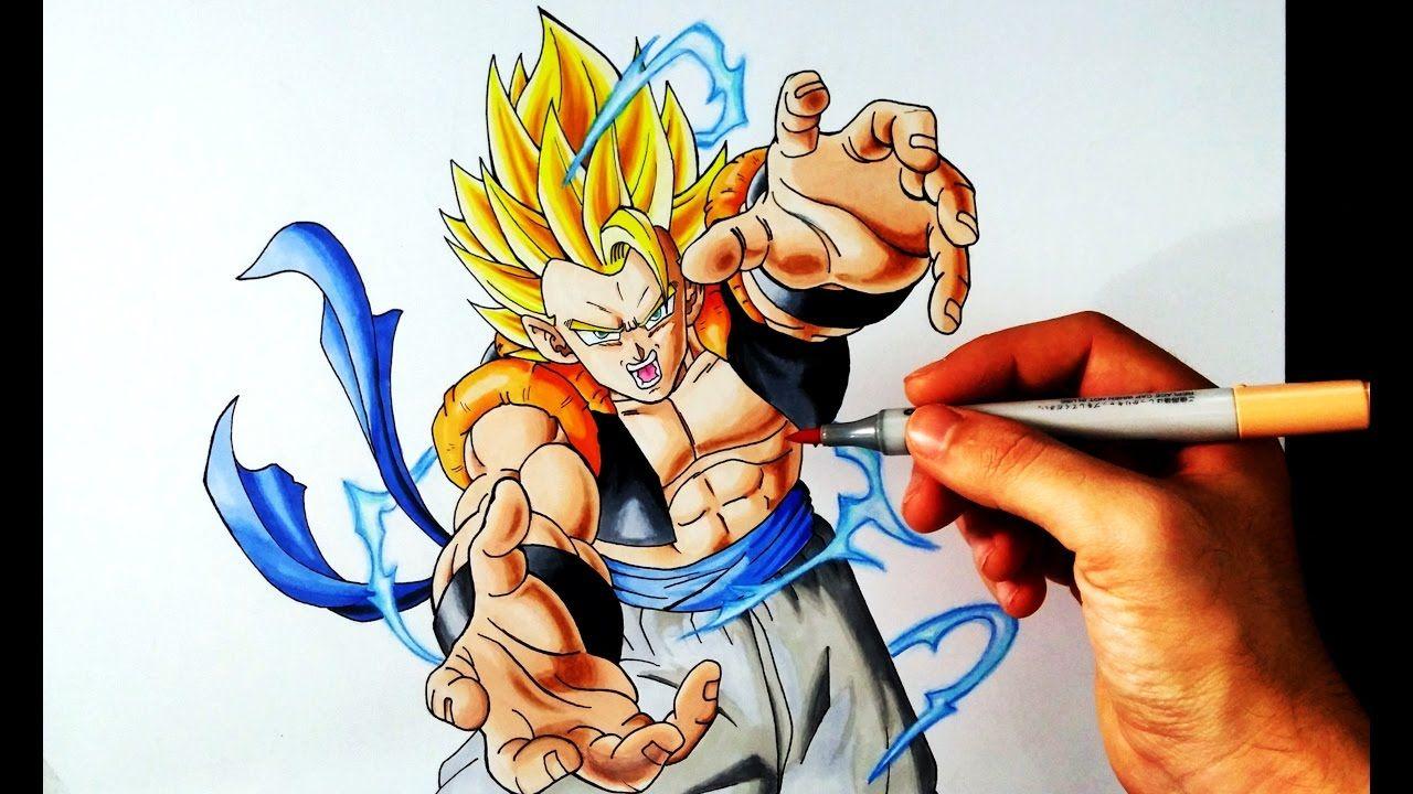 Artemaster Vs Dibujame Un Duelo De Titanes Gogeta Ssj2 Goku Drawing Goku Goku Super Saiyan