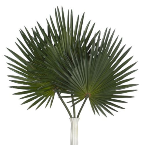 Faux Palm Stem Set Of 3 Products Fake Palm Tree