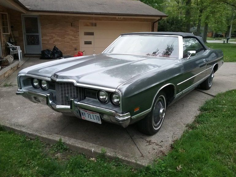 1971 Ford Ltd 2 Dr Convertible Ford Ltd Ford Classic Cars Ford