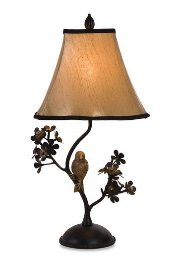 Hautelook Revamp With Vintage Accents Bird Branch Table Lamp Table Lamp Lamp Decorative Table Lamps