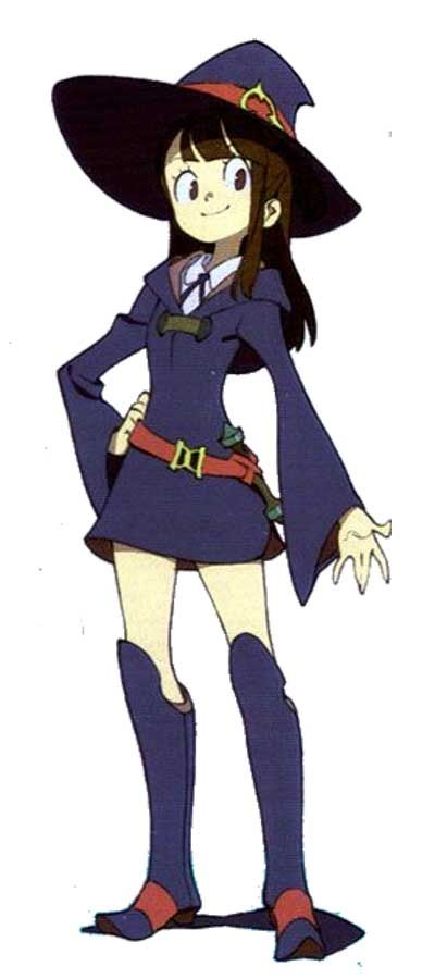 Little Witch Academia Cosplay Akko Cosplay Costume Version 01