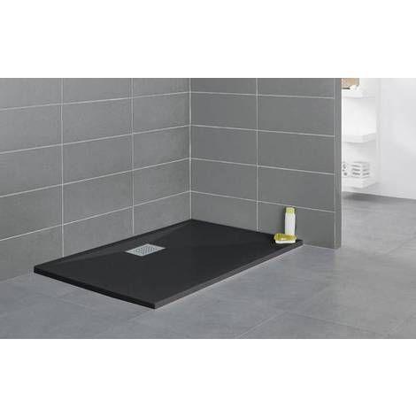 kinestone receveur best receveur poser rsine minrale blanche cooke u lewis helgea x cm. Black Bedroom Furniture Sets. Home Design Ideas