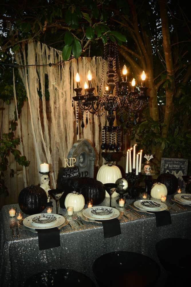 Check Out The More Like This: You've Got To Check Out This Fabulous Glam Halloween Party