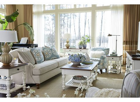 Beau Living Room With The Melody Sofa | Havertys