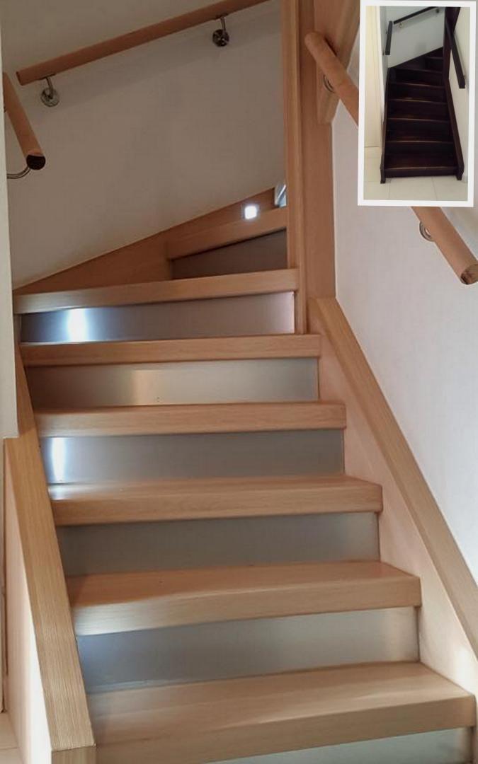pingl par c c custom sur escaliers main courante balustre garde coprs chemin tapis. Black Bedroom Furniture Sets. Home Design Ideas