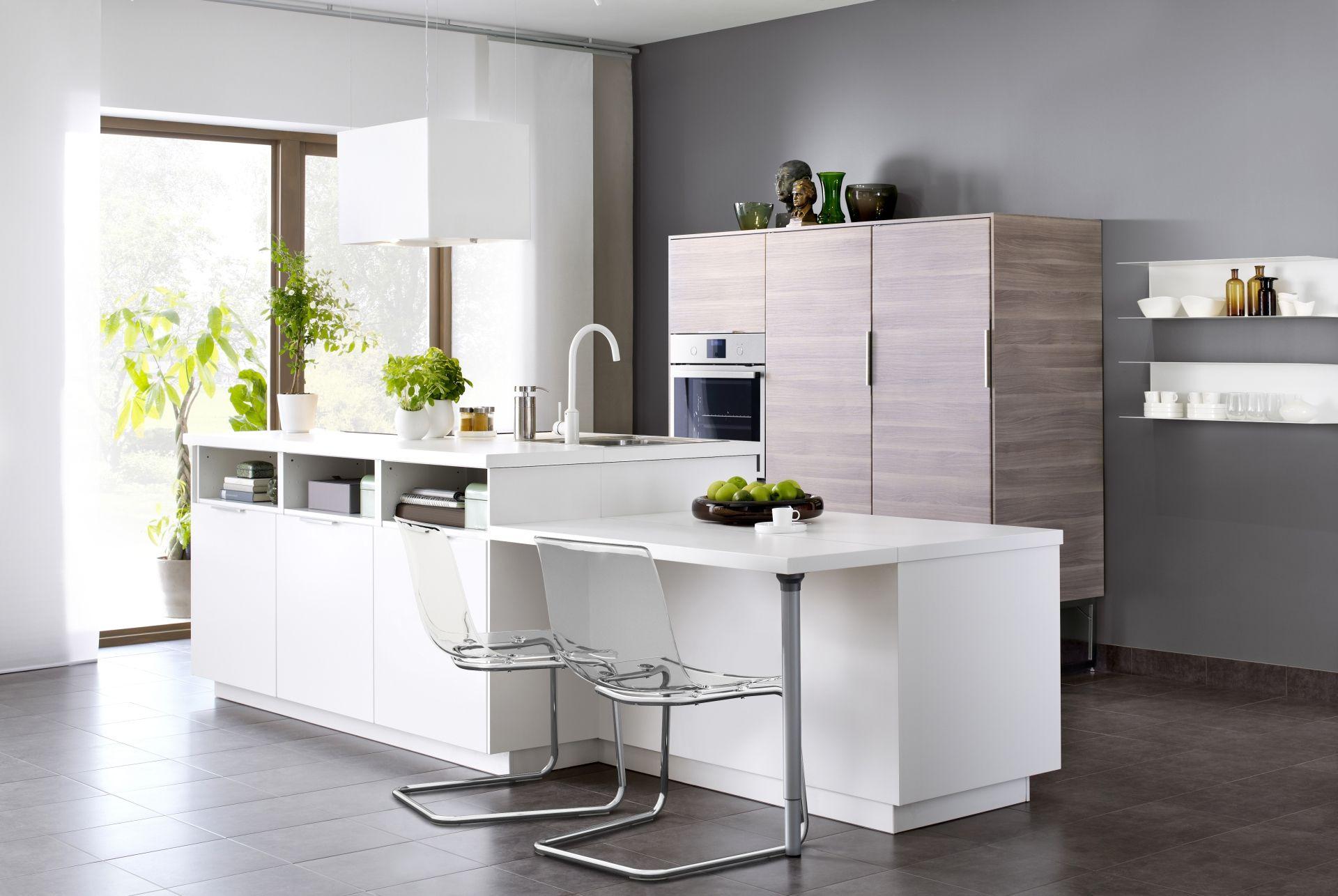 Uptown Witte Keuken : Metod keuken met een modern kookeiland #ikea #ikeanl #keukens