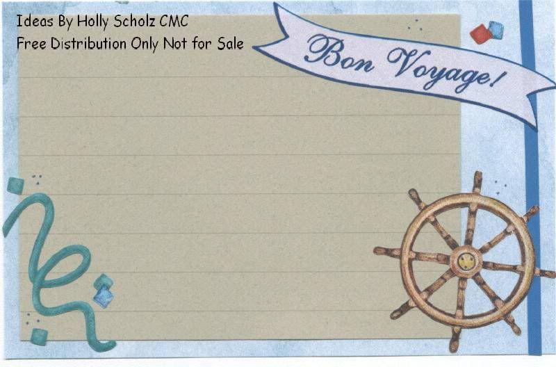 Cruise journal box