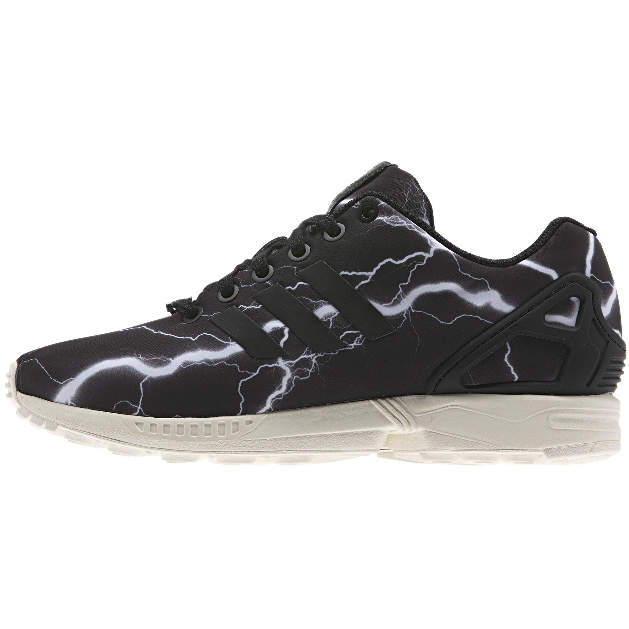Men's adidas Originals ZX Flux Shoes Core BlackMetallic