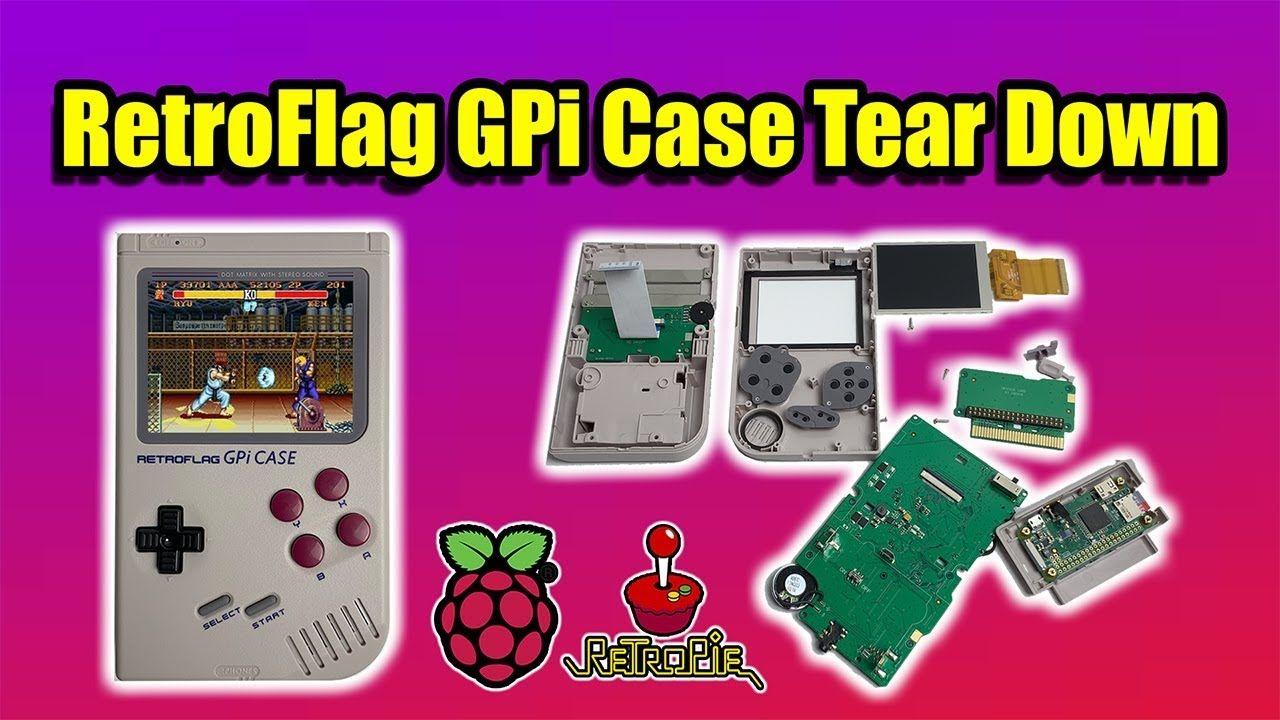 RetroFlag Gpi Case Quick Teardown The Best Raspberry Pi GameBoy