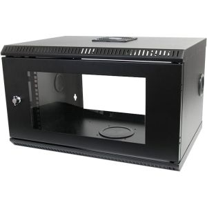Startech Com 6u 19 Inch Wall Mount Server Rack Cabinet With Acrylic Door Black Products In 2019 Server Rack Wall Mount Rack 12u Rack