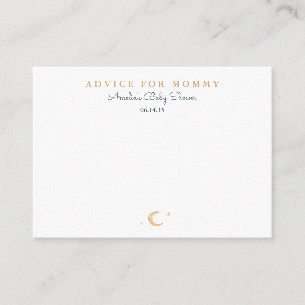 Sweet Dreams Mommy Advice Cards 100 cards