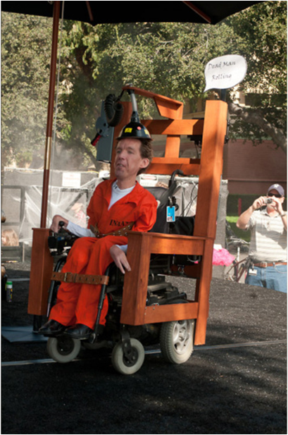 Adult Wheelchair costume Electric Chair