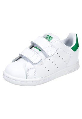 more photos c5615 20d7c STAN SMITH - Baskets basses - white green