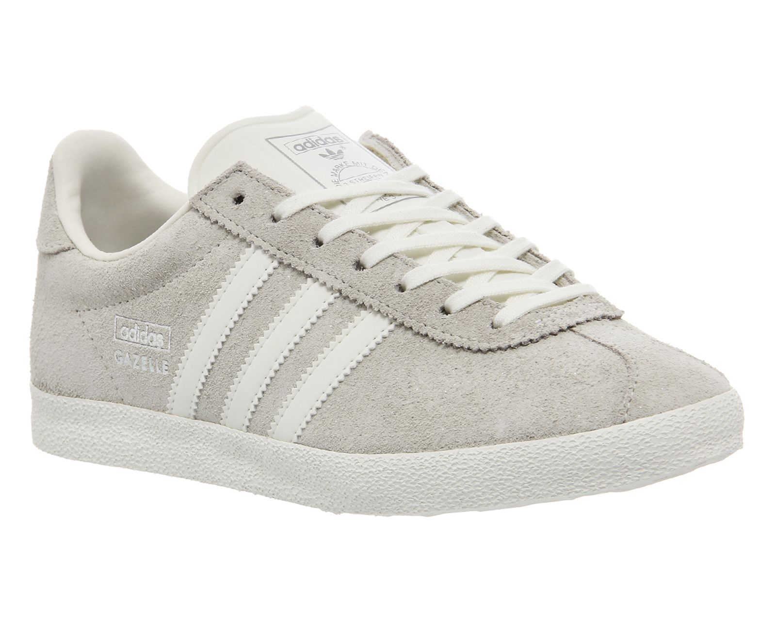 Adidas Gazelle Originals White Silver shoes