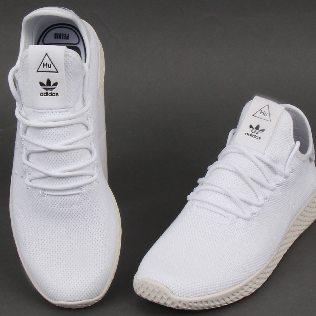 Adidas PW Tennis Comfort Trainers White | Adidas runners, Adidas ...