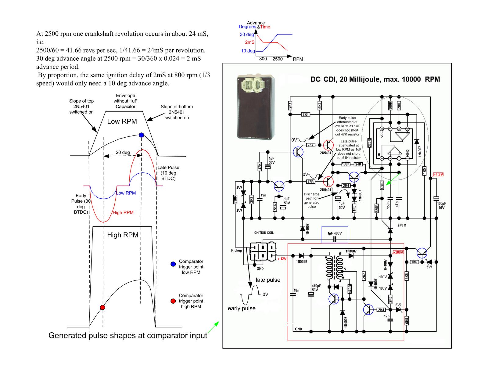 Dc Cdi Schematic Updated Dengan Gambar