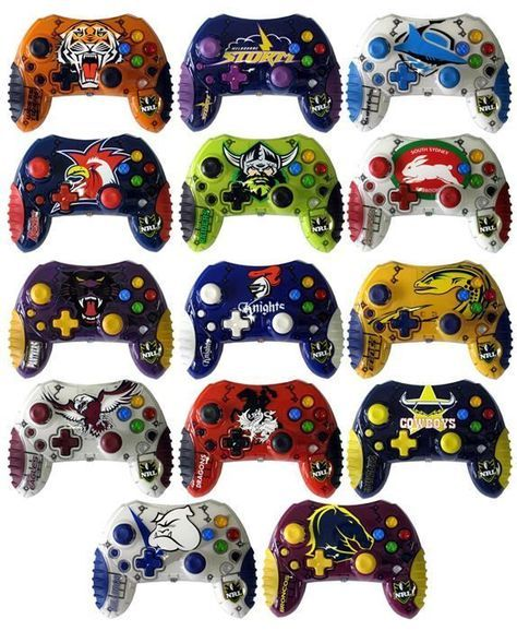 Xbox NRL Rugby League Team Controllers  dfadc79181774