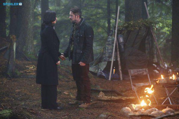"""#OnceUponATime 4x10 """"Fall"""" - Regina and Robin Hood"""