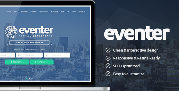 Eventer - Event and Conference WordPress Theme (Events) - http ...