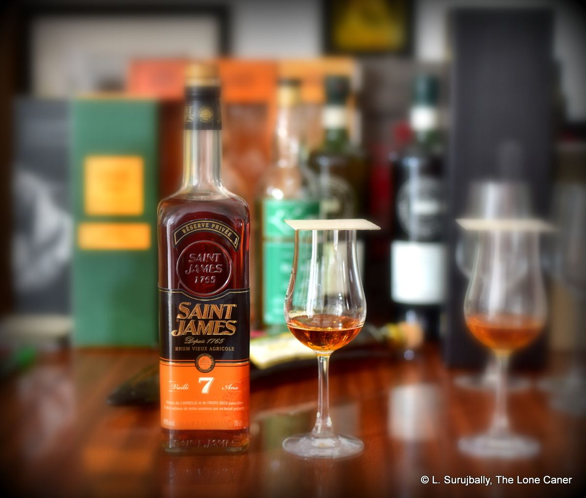 Saint James Rhum Vieux Agricole 7 Year Old Review in