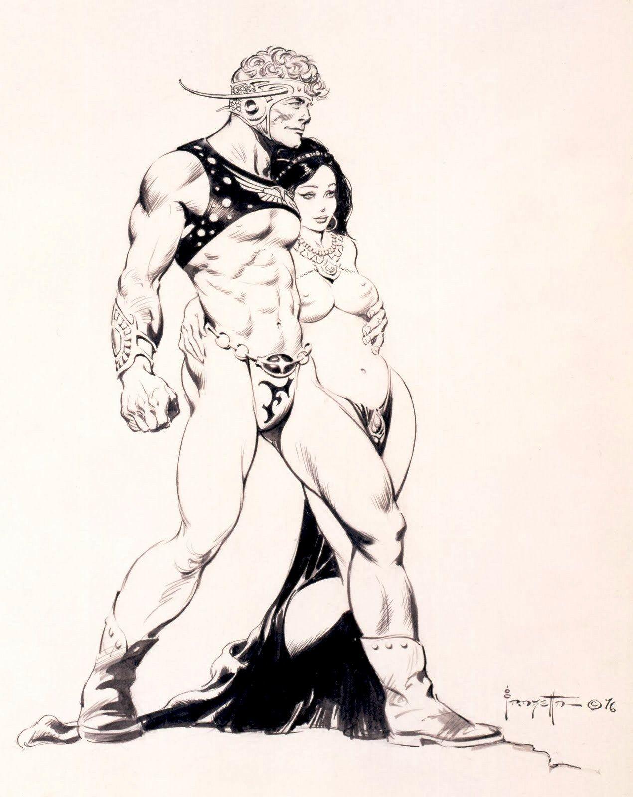 Flash Gordon by Frank Frazetta | Frezetta. | Pinterest | Grafiken