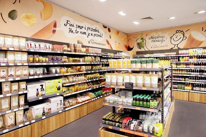 bio&bio eco–products store by Brandoctor & Bruketa&Zinic OM & Brigada, Croatia » Retail Design Blog