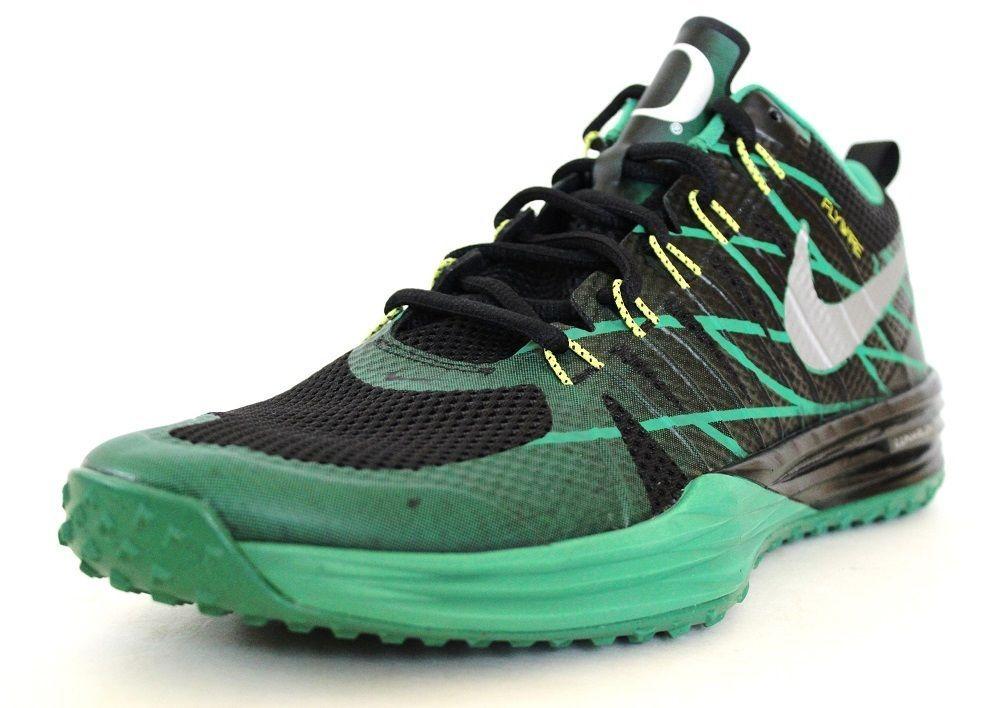 9f2637c7fa68 Nike Men s Lunar Tr1 Shoes Week Zero Oregon Ducks 654283 037 Black Green  Size 11…